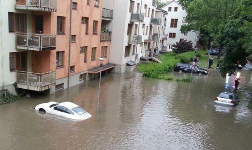 Vyplavená auta